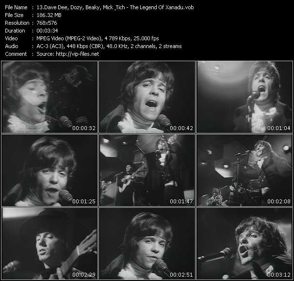 Dave Dee, Dozy, Beaky, Mick And Tich video screenshot