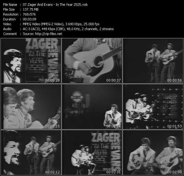 Zager And Evans video screenshot