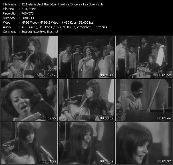 Melanie And The Edwin Hawkins Singers video screenshot