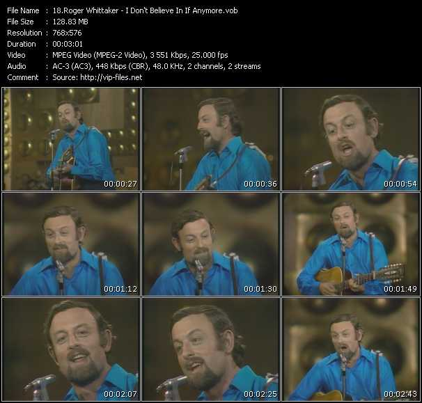 Roger Whittaker video screenshot
