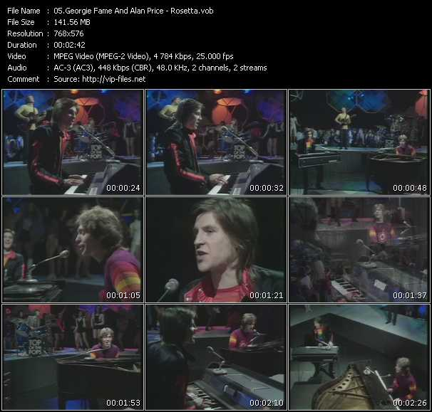 Georgie Fame And Alan Price video screenshot