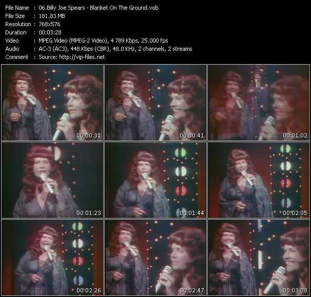 Billy Joe Spears video screenshot