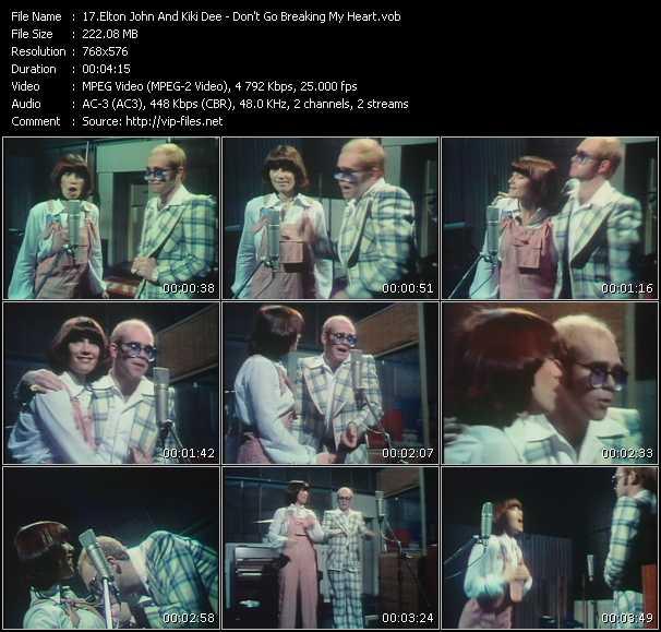 Elton John And Kiki Dee video screenshot