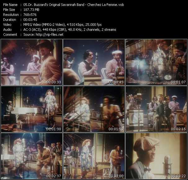Dr. Buzzard's Original Savannah Band video screenshot