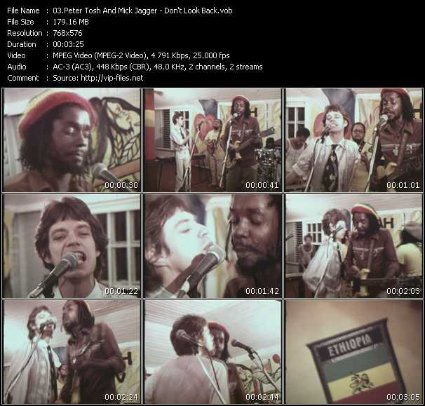 Peter Tosh And Mick Jagger video screenshot