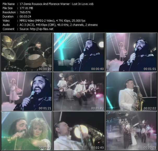 Demis Roussos And Florence Warner video screenshot