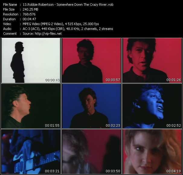 Robbie Robertson video screenshot