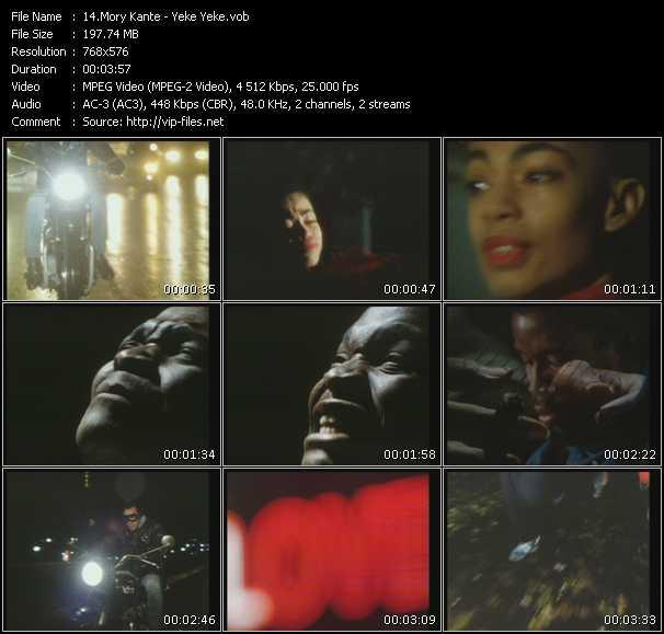 Mory Kante video screenshot