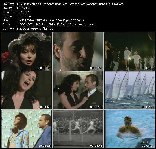 Jose Carreras And Sarah Brightman video screenshot