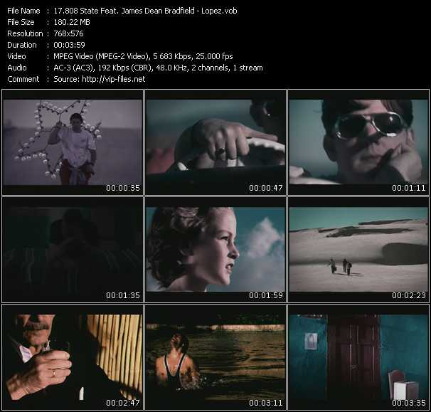 808 State Feat. James Dean Bradfield video screenshot