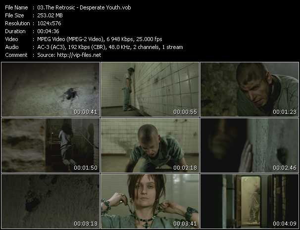 video Desperate Youth screen