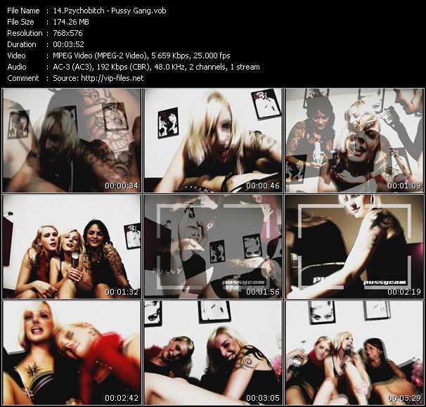 Pzychobitch video screenshot
