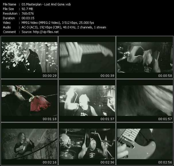 Masterplan video screenshot