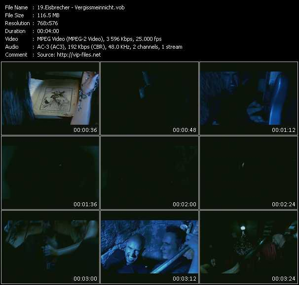 Eisbrecher video screenshot