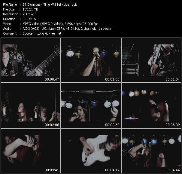 Dionysus video screenshot