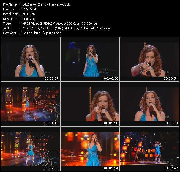 Shirley Clamp video screenshot
