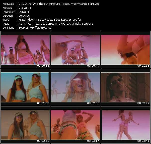 Gunther And The Sunshine Girls video screenshot