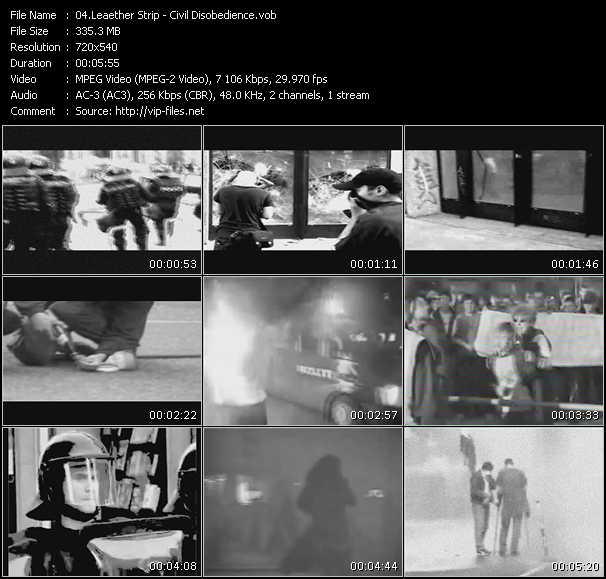 Leaether Strip video screenshot