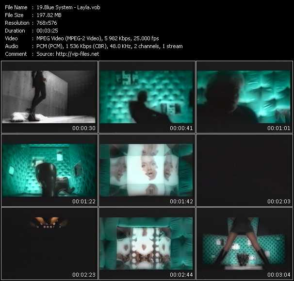 Blue System video screenshot