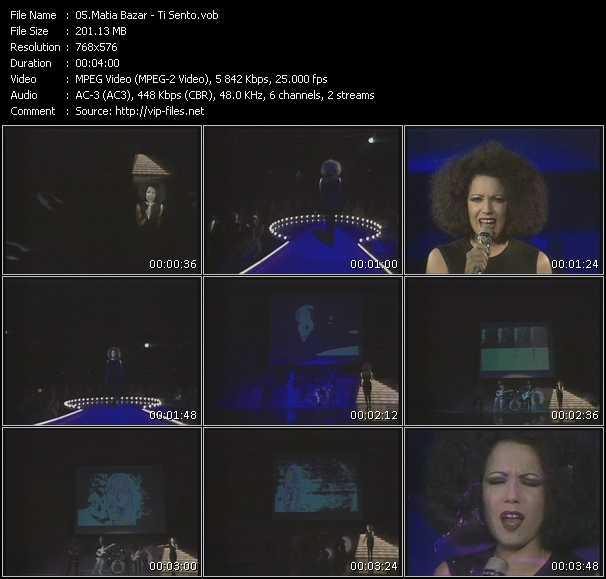 Matia Bazar video screenshot
