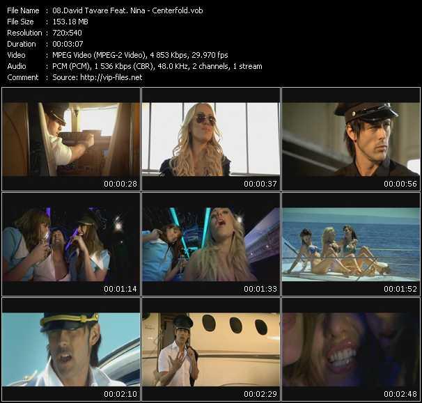 David Tavare Feat. Nina video screenshot