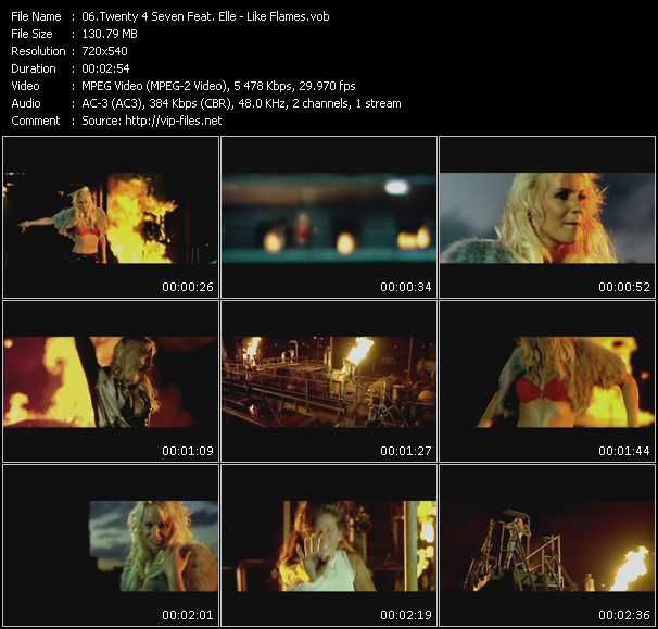 Twenty 4 Seven Feat. Elle video screenshot