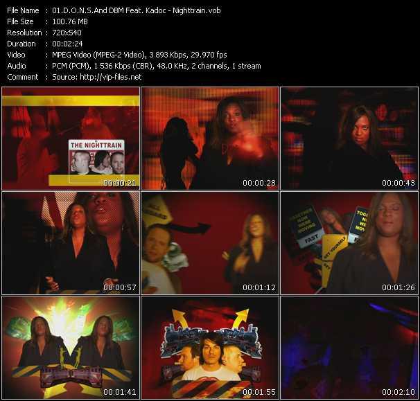 D.O.N.S. And DBM Feat. Kadoc video screenshot
