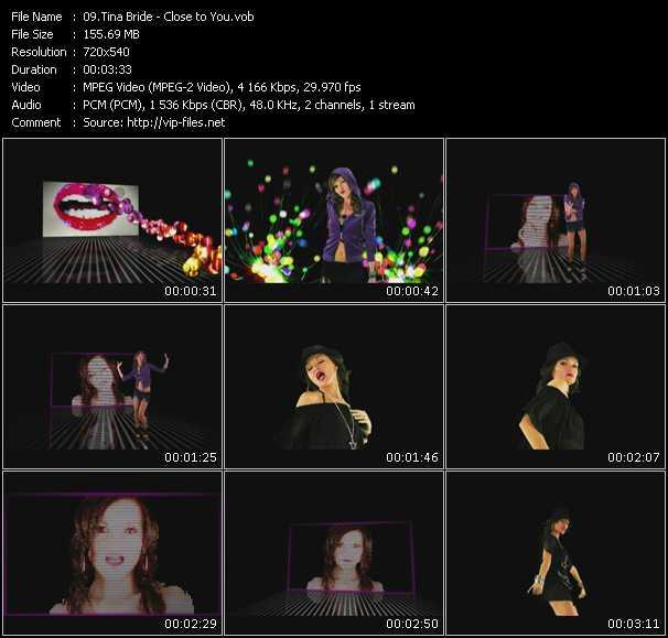 Tina Bride video screenshot