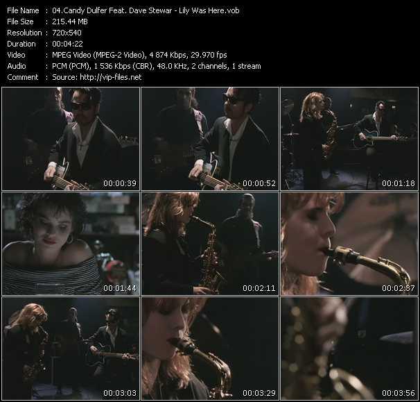 Candy Dulfer Feat. Dave Stewart video screenshot