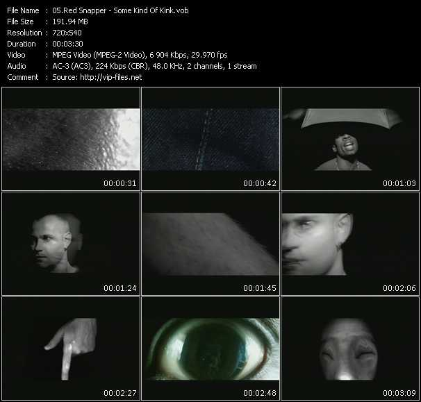 Red Snapper video screenshot