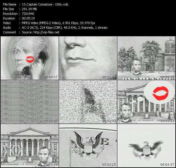 Captain Comatose video screenshot
