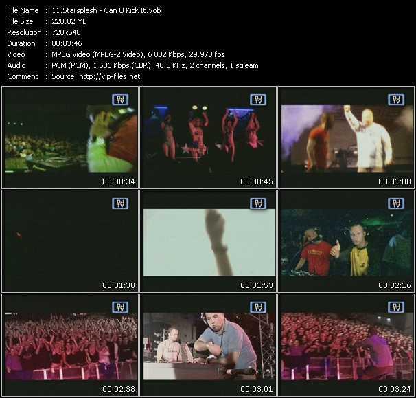 Starsplash video screenshot