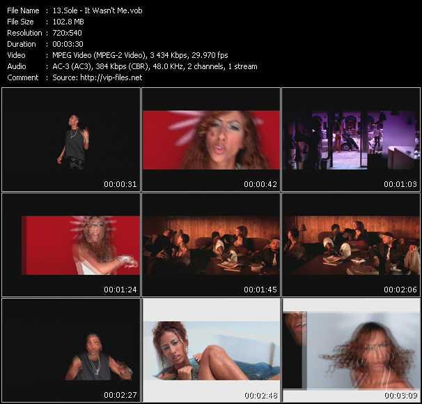 Sole video screenshot