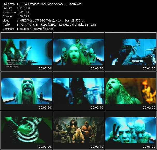 Zakk Wyldes Black Label Society video screenshot