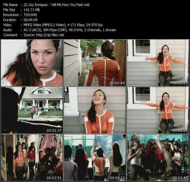 Joy Enriquez video screenshot