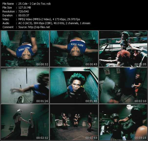 Cole video screenshot