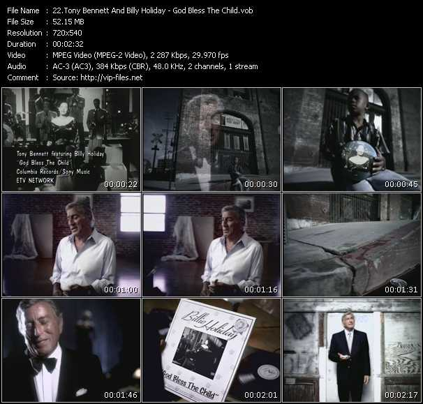 Tony Bennett And Billy Holiday video screenshot