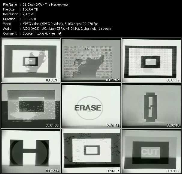 Clock DVA video screenshot