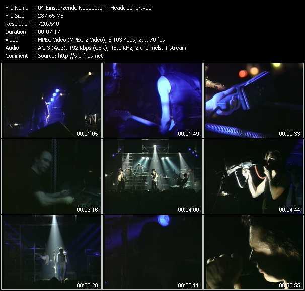 Einsturzende Neubauten video screenshot