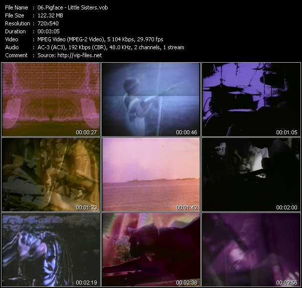 Pigface video screenshot