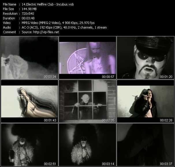 Electric Hellfire Club video screenshot