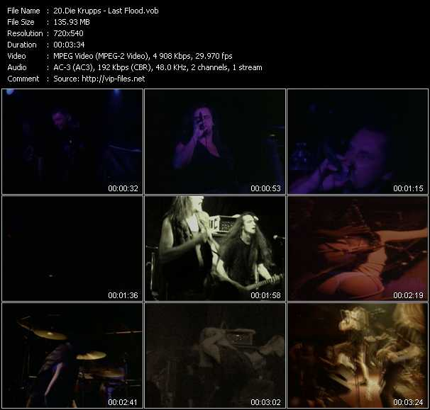 Die Krupps video screenshot