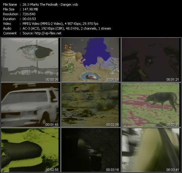 X-Marks The Pedwalk video screenshot
