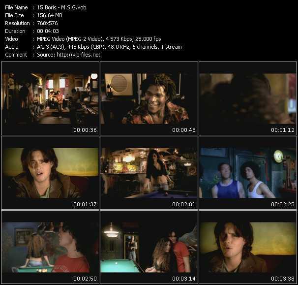 Boris video screenshot