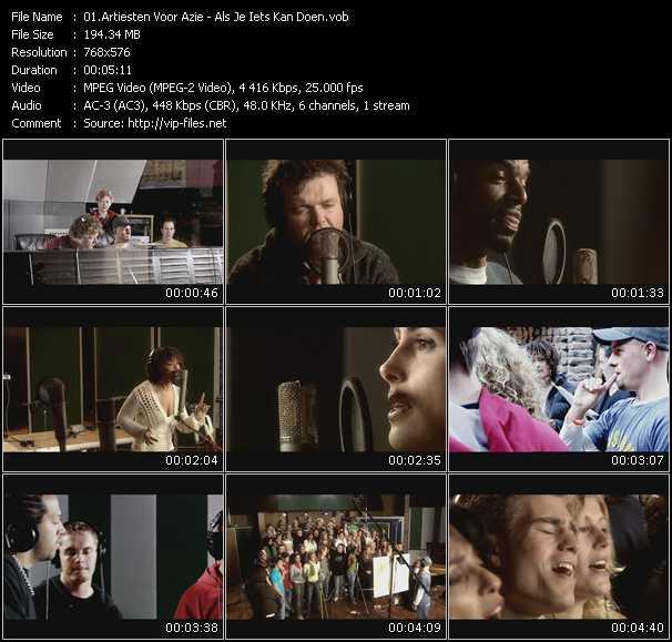 Artiesten Voor Azie video screenshot