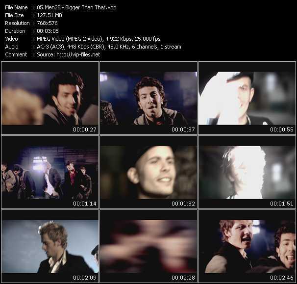 Men2B video screenshot