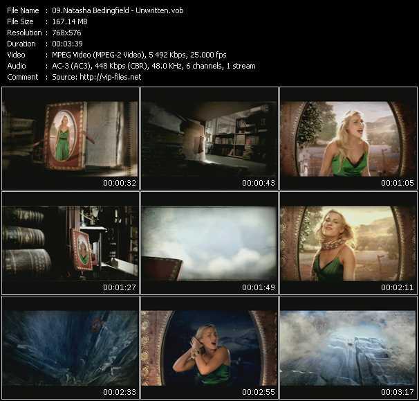 video Unwritten screen