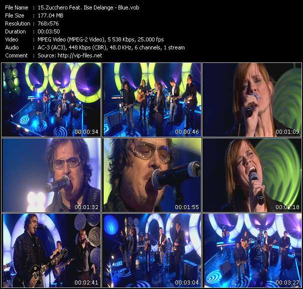 Zucchero Feat. Ilse DeLange video screenshot