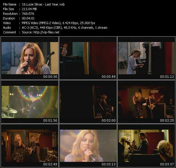 Lucie Silvas video screenshot