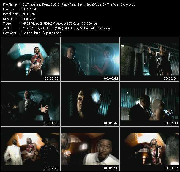 Timbaland Feat. D.O.E. And Keri Hilson video screenshot